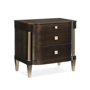 Classic Brown Night Owl Nightstand