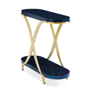 Classic Blue End Table