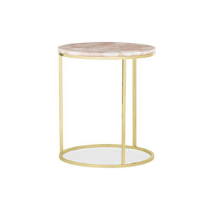 Classic Silver Rosie End Table