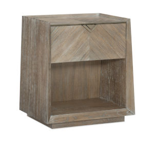 Classic Brown Earthly Delight Nightstand