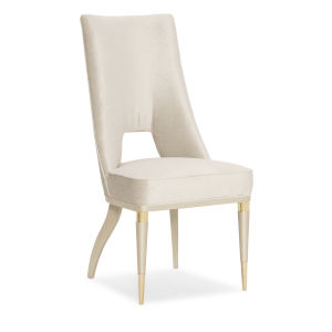 Classic Beige Guest of Honor Dining Chair