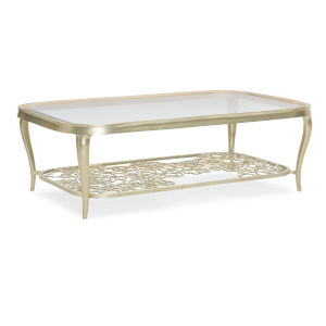 Classic Gold Flower Power Cocktail Table