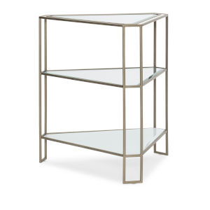 Classic Gray Stage Left or Right Triangular Side Table