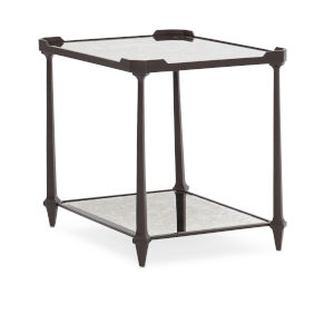 Classic Black End All End Table