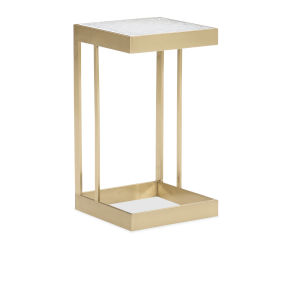 Classic Gold Dainty Little Gem Side Table