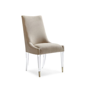 Classic Beige I Am Floating Dining Chair