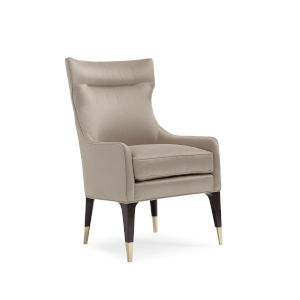 Classic Beige Small and Petite Arm Chair