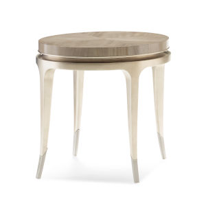 Classic Beige End Table