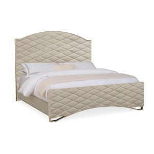 Classic Beige California King Bed