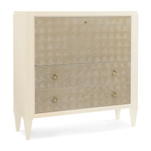 Classic Gold Around in Circles Console Table