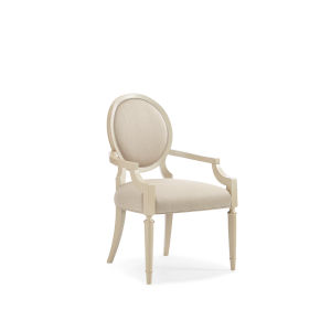 Classic Beige Chitter Chatter Arm Chair