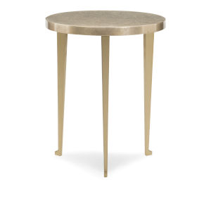 Classic Gold Honey Bunch End Table
