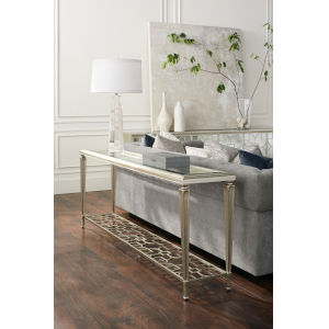 Classic Silver Highly Social Console Table