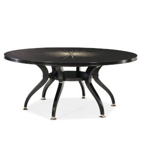 Classic Black Dining Table