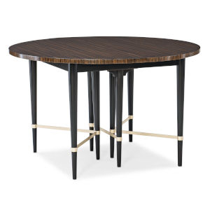 Classic Brown Long and Short of It Dining Table