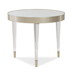 Classic Gold Tri This End Table