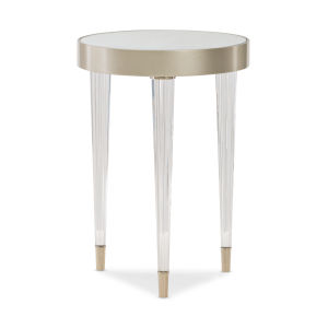 Classic Gold Tri Me End Table