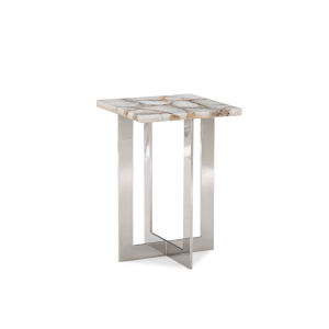 Classic Silver the Four Corners End Table