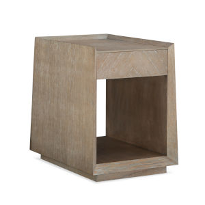 Caracole Classic Beige Bridges Side Table