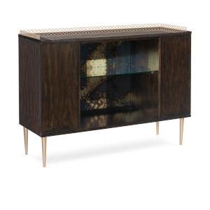 Caracole Classic Bronzed Ebony In Good Spirits Bar Cabinet