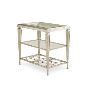 Classic Gold Social Connections End Table