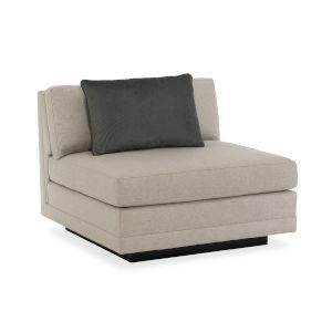 Modern Fusion Beige Sofa