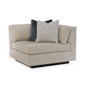 Modern Fusion Beige Corner Sofa