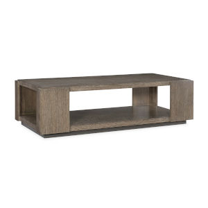 Modern Fusion Gray Elements Cocktail Table
