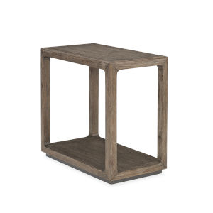 Modern Fusion Gray Fusion Chairside End Table