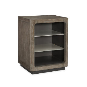 Modern Fusion Gray Cabinet