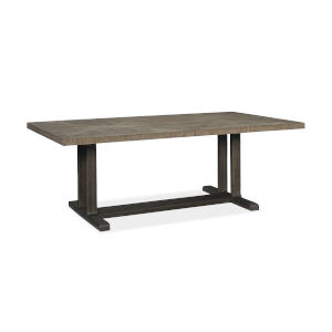 Modern Fusion Gray Dining Table