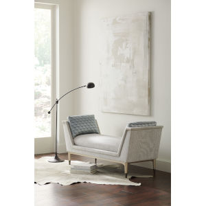 Classic Gray End to End Chaise Lounge