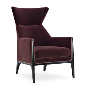 Modern Edge Purple Chair