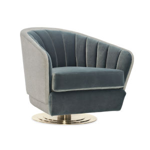 Modern Edge Gray Chair