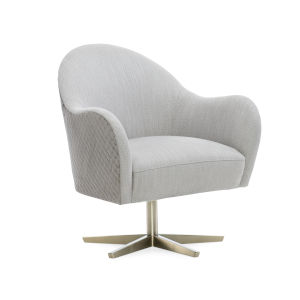 Modern Edge Ivory Chair