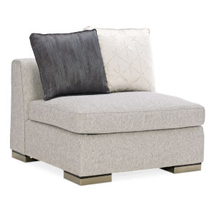 Modern Edge Ivory Sofa