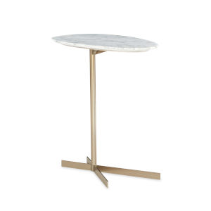 Modern Edge Gold End Table