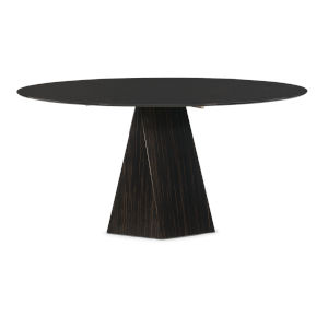 Modern Edge Brown Vector Dining Table