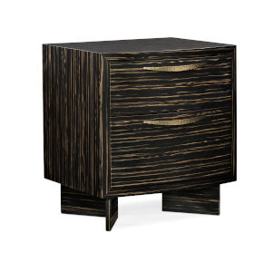 Modern Edge Brown Nightstand