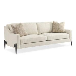 Modern Artisan Remix Ivory Sofa