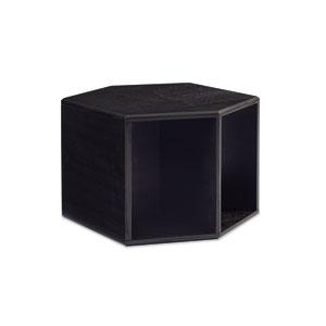 Modern Artisan Remix Brown End Table