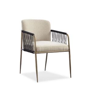 Modern Artisan Remix Beige Arm Chair