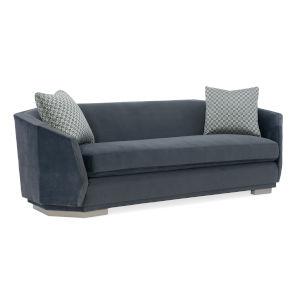 Modern Expressions London Fog Sofa
