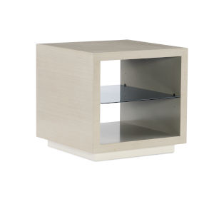 Modern Expressions Ash Taupe, Mink Gray and Winter Haze End Table