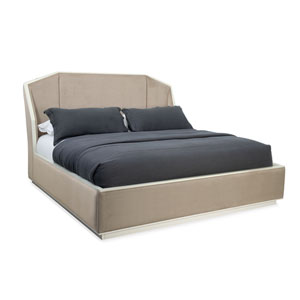 Modern Expressions Winter Haze Queen Bed