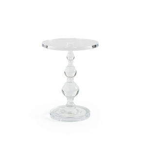 Classic Transparent End Table