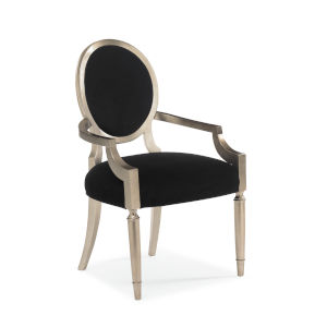Classic Black Arm Chair