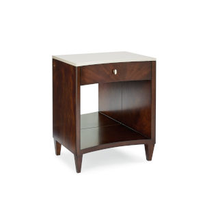 Classic Brown You Light Up My Life Nightstand
