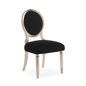 Classic Beige Chit-Chat Side Dining Chair