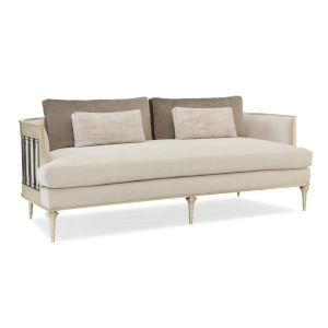Classic Beige Quit Your Metal-Ing Sofa